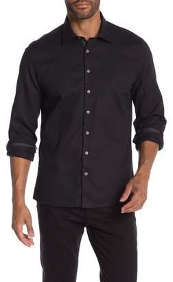 Stone Rose Miami Waffle Slim Fit Shirt
