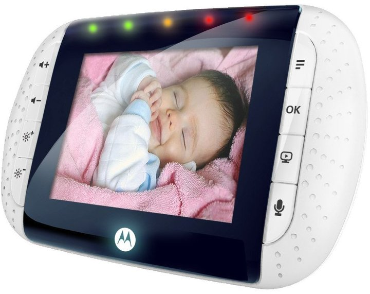 Motorola MBP33 Wireless Color Video Baby Monitor- 2.8""