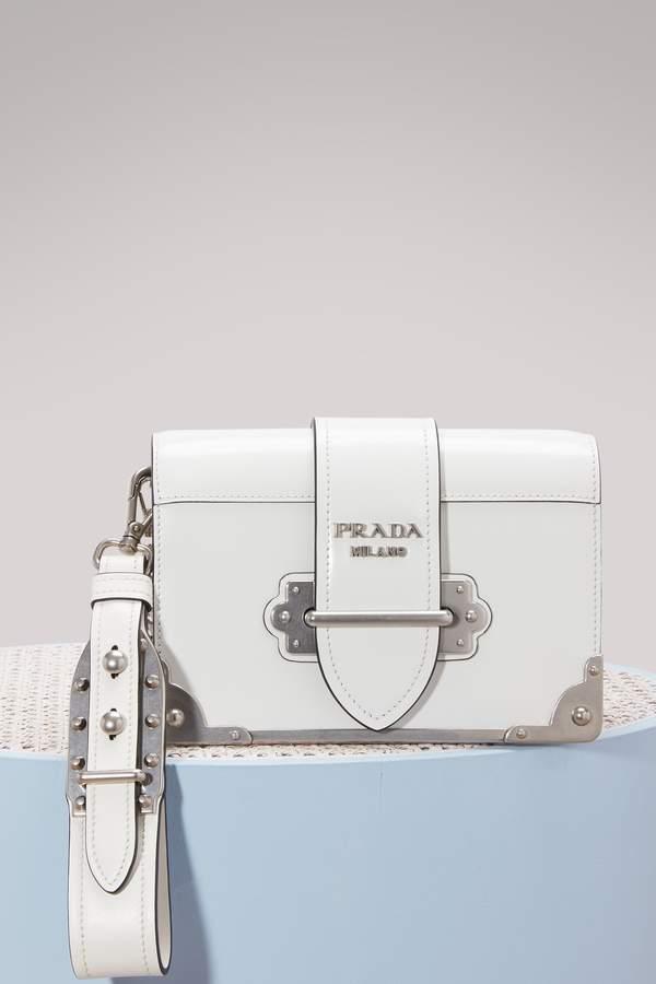 Prada Mini Cahier crossbody bag