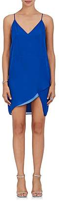 Mason by Michelle Mason MASON BY MICHELLE MASON WOMEN'S CONTRASTING SILK SLIP DRESS $425 thestylecure.com