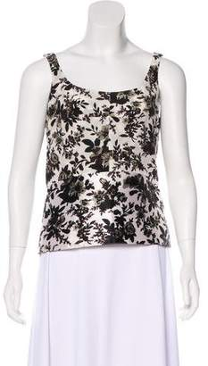 Balenciaga Silk Sleeveless Top