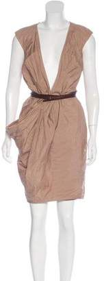 Kaufman Franco Kaufmanfranco Sleeveless Wrap Dress