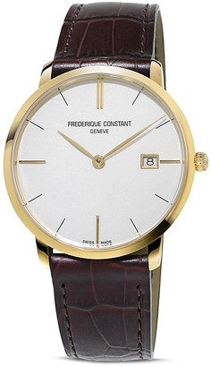 Frederique Constant Classics Slimline Quartz Watch, 39mm $1,195 thestylecure.com
