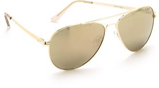 Le Specs Drop Top Sunglasses $79 thestylecure.com