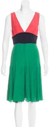 Marni Colorblock Knee-Length Dress