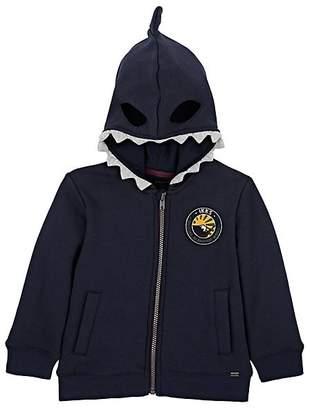Ikks Kids' Shark-Mask Fleece Hoodie