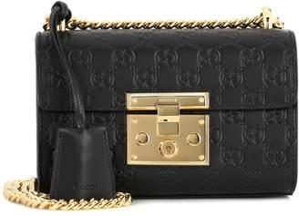 23cf12595215aa Gucci Padlock Small shoulder bag with chain