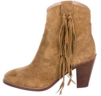 Ash Suede Western Booties w/ Tags