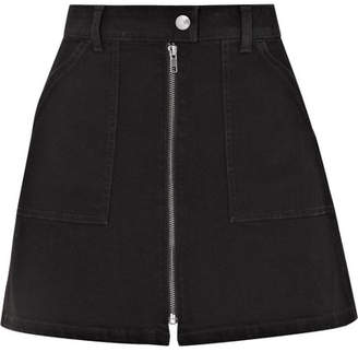 Madewell Denim Mini Skirt - Black