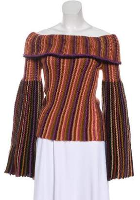 Missoni Striped Bell Sleeve Sweater