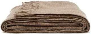 Denis Colomb Mongolia Yak Wool Blanket - Womens - Grey Brown