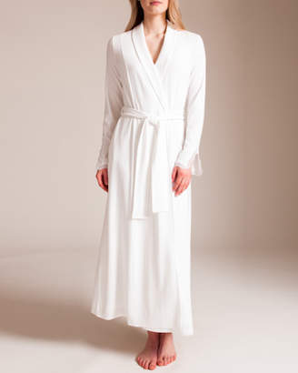 Paladini Jersey Galloncino Michaela Lace Long Robe