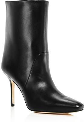 Stuart Weitzman Women's Ebb Square Toe High-Heel Boots