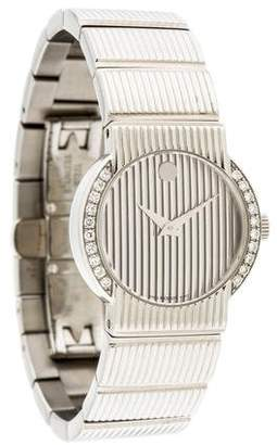 Movado Diamond Watch