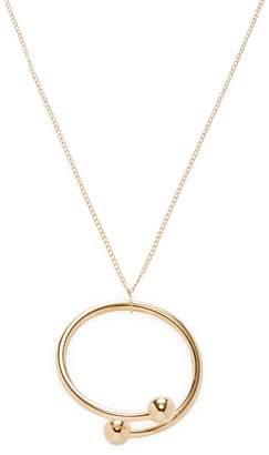 J.W.Anderson Women's Pierce Circle Pendant Necklace