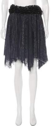 Chanel Embellished Tulle Skirt