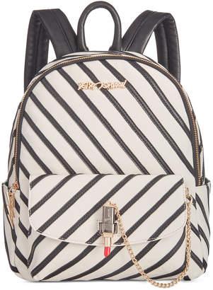 Betsey Johnson Lip Service Small Backpack