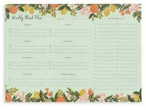 Rifle Paper Co. Citrus Floral Notepad