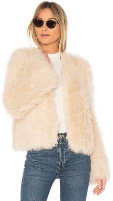 Ulla Johnson Harper Lamb Fur Coat