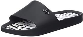Vivienne Westwood & Melissa Women's VW Beach Slide 20 Open Toe Sandals, (Black Orb 53250), 35/36 EU