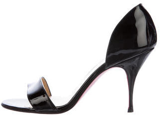 Christian Louboutin  Christian Louboutin Patent Leather d'Orsay Pumps