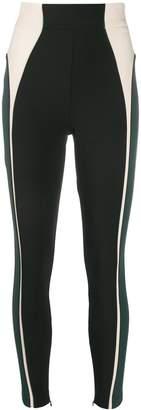 Elisabetta Franchi stretch colour-block trousers