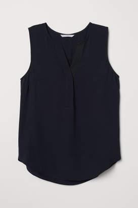 H&M Sleeveless Blouse - Black