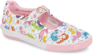 Lelli Kelly Kids Beaded Mary Jane Sneaker