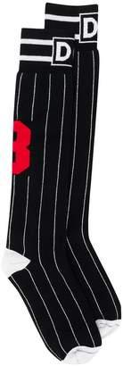 Dolce & Gabbana striped socks