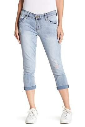 Bardot Swat Fame Cropped Boyfriend Jeans (Petite)