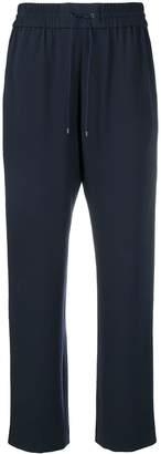 Kenzo contrast stripe track pants