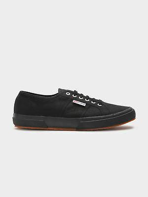Superga New Womens 2750 Cotu Classic Sneakers In Black Sneakers