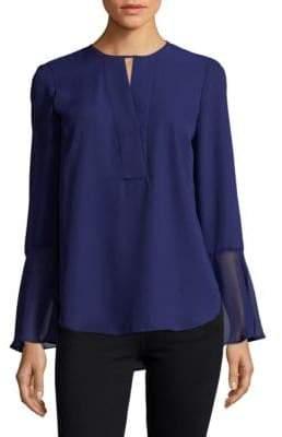 T Tahari Brigitta Bell Sleeve Top
