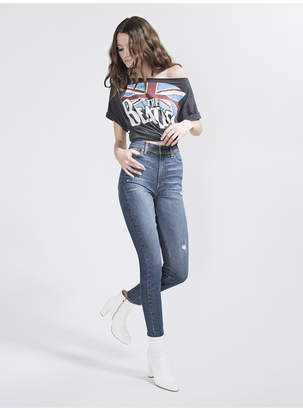 Alice + Olivia Good High Rise Ankle Skinny Jean
