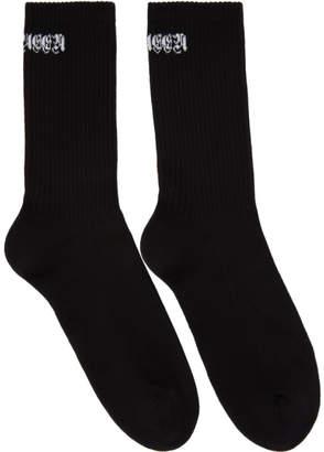 Alexander McQueen Black Gothic Socks