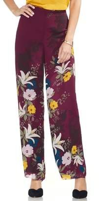 Vince Camuto Autumn Botanical Wide Leg Pants