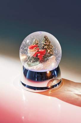 Urban Outfitters Skiing Santa USB Snow Globe