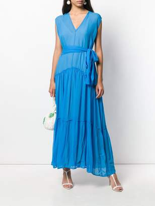 8pm Belted Maxi Dress