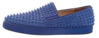 Christian Louboutin Roller Boat Spike Sneakers