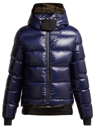 Templa - 10k Nano Quilted Down Filled Jacket - Womens - Dark Blue