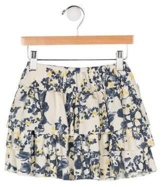 Imoga Girls' Printed Mini Skirt