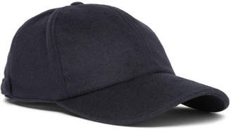 Officine Generale Wool And Cashmere-Blend Baseball Cap