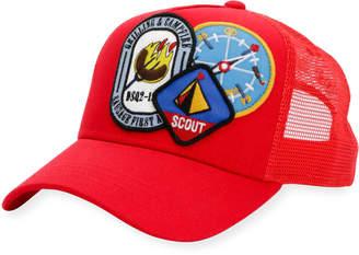 DSQUARED2 Camp Patch Baseball Cap