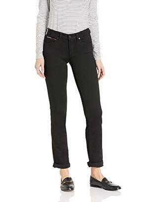 42e1d246 Tommy Hilfiger Tommy Jeans Women's Straight Leg Sandy Mid Rise Jeans