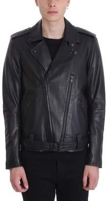 IRO Biker Black Leather Jacket