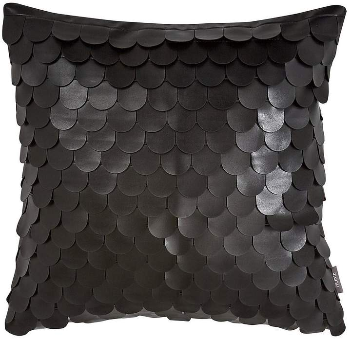 Myleene Klass Home Laser Cut Leather Look Cushion