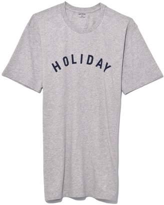 Holiday Logo T-Shirt in Grey