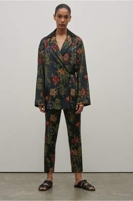 Rosetta Getty Floral Jacquard Robe Jacket