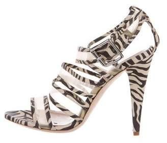 Loeffler Randall Suede Multistrap Sandals