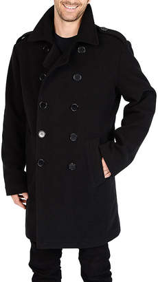 Excelled Leather Excelled Double-Breasted Pea Coat